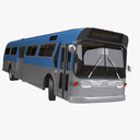 tour bus 3D models