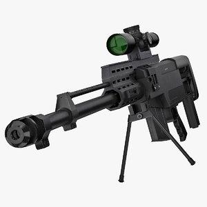 accuracy international as50 3d model