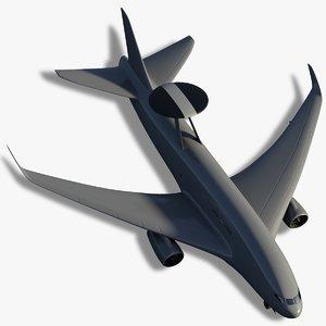3d model airborne awacs