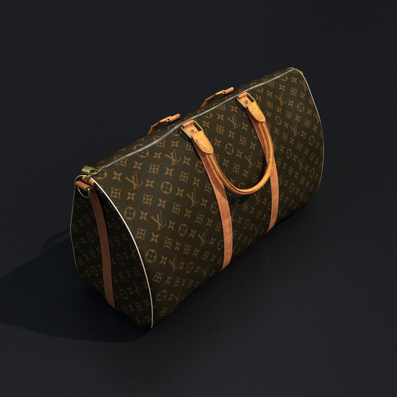 louis vuitton handbag 3d 3ds