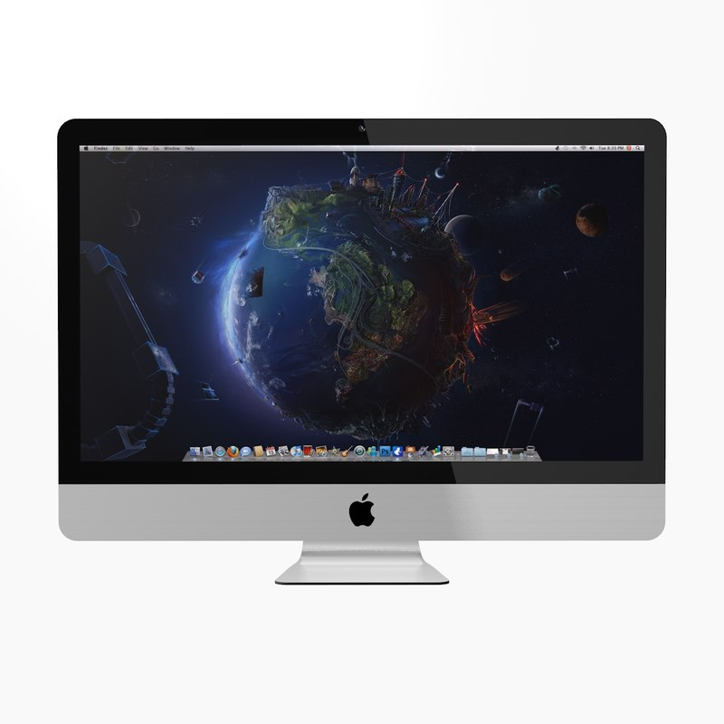 new imac late 2012 3d 3ds