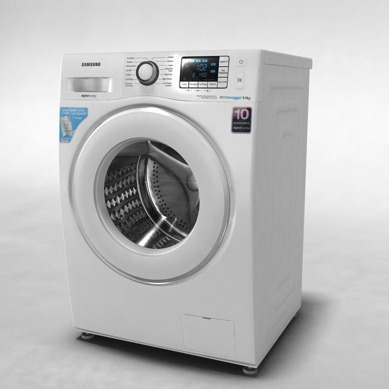 3ds max samsung washing machine