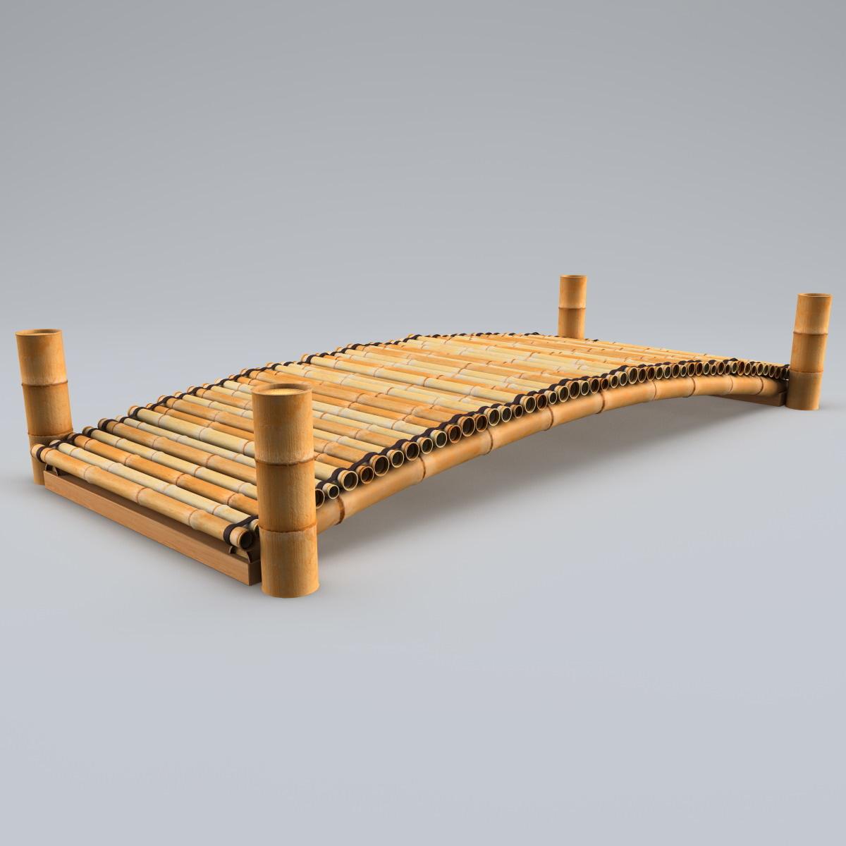 bamboo bridge 3d 3ds