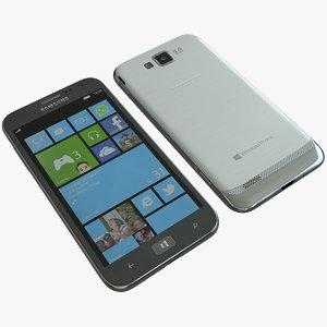 3d samsung ativ s cellphone