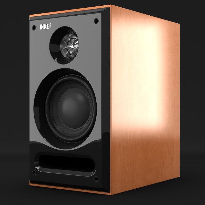 kef c 1 3d model