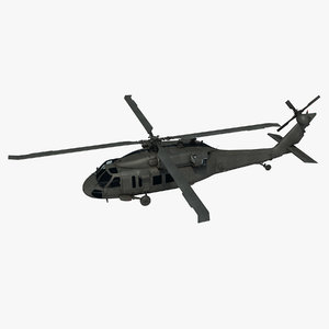 uh-60m blackhawk 3d x