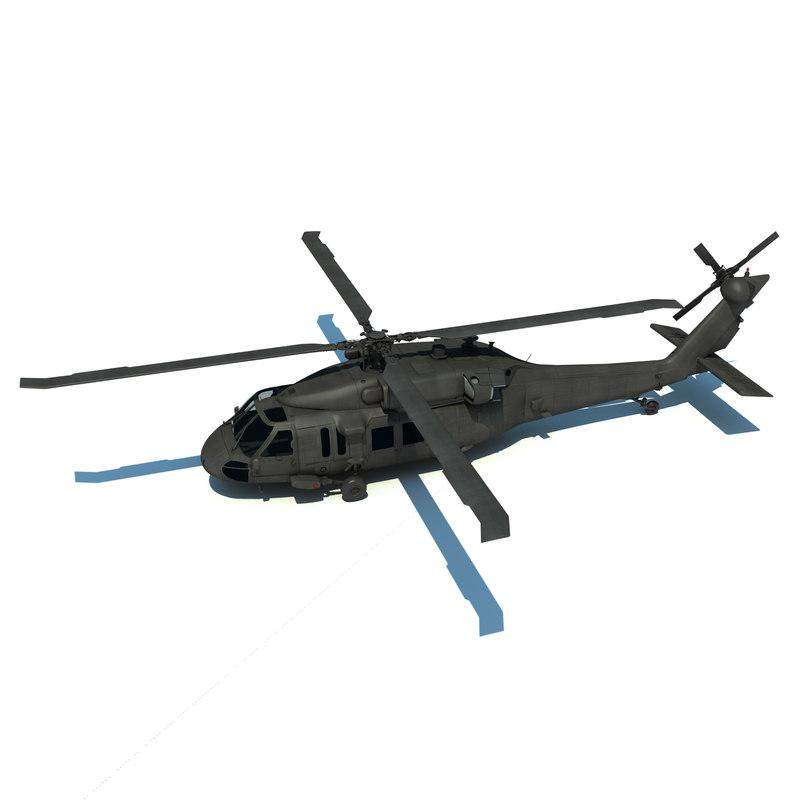 uh-60m blackhawk 3d x