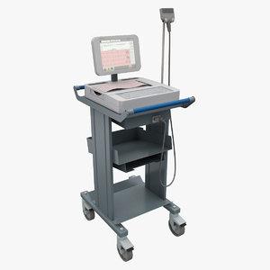 wireless digital electrocardiograph quinton 3d max