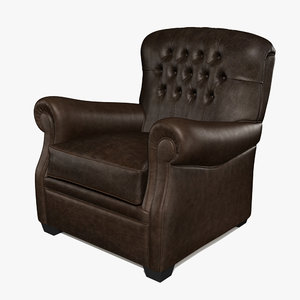 3ds max armchair loris