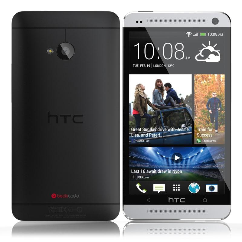 3d hd htc 2013 black model