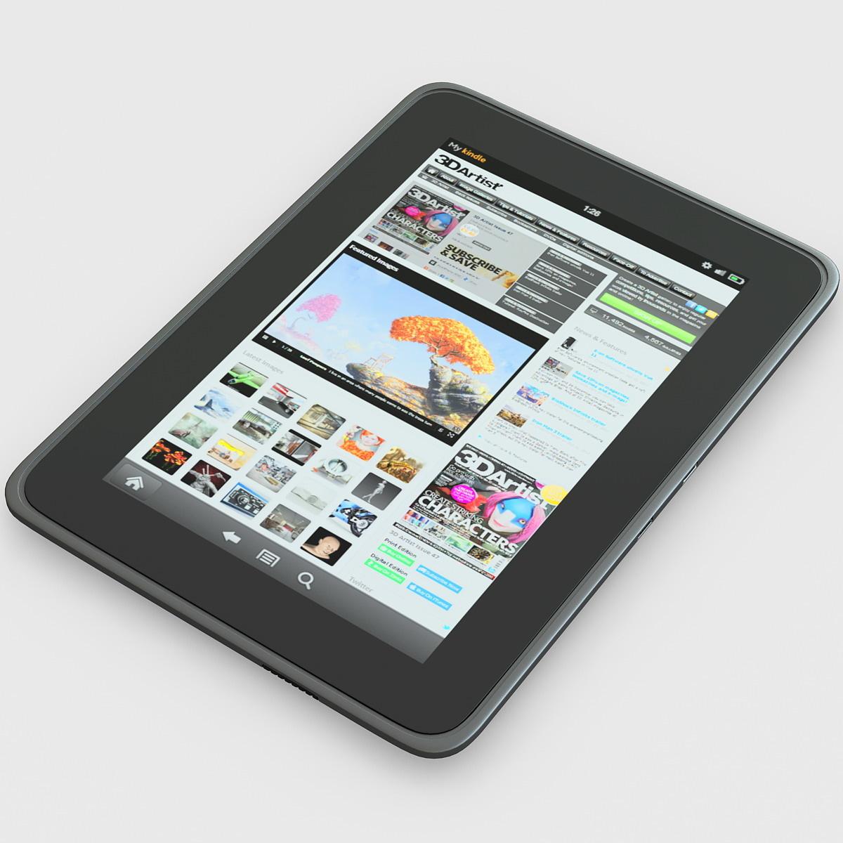 3dsmax kindle hd 7 tablet