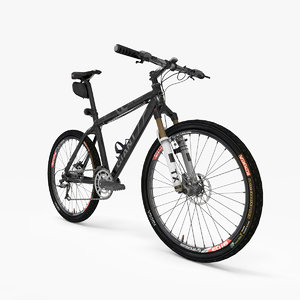 mountain bike obj
