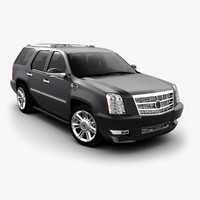 3ds max cadillac escalade luxury