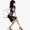businesswoman 3D models