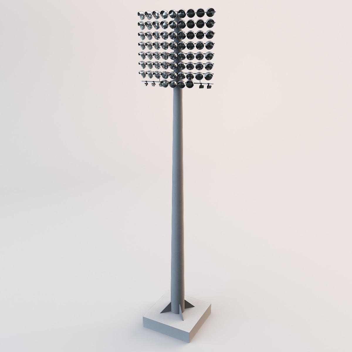 3ds max stadium lights