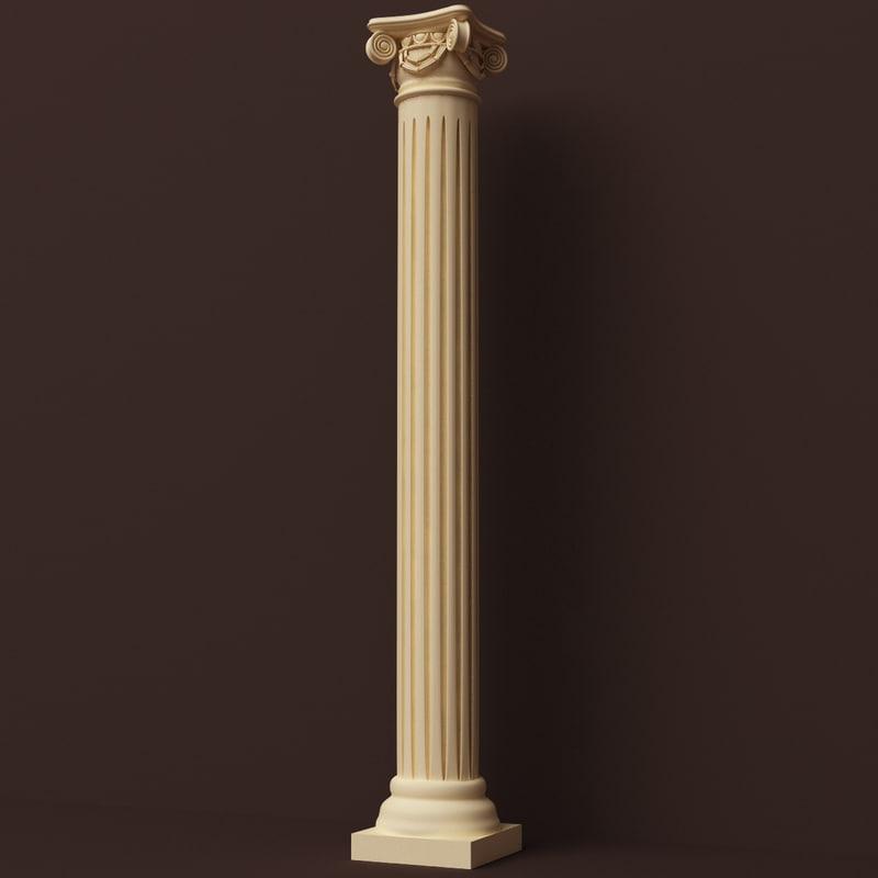 3d model of al decoration ornamental