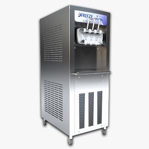 3d frozen yogurt machine