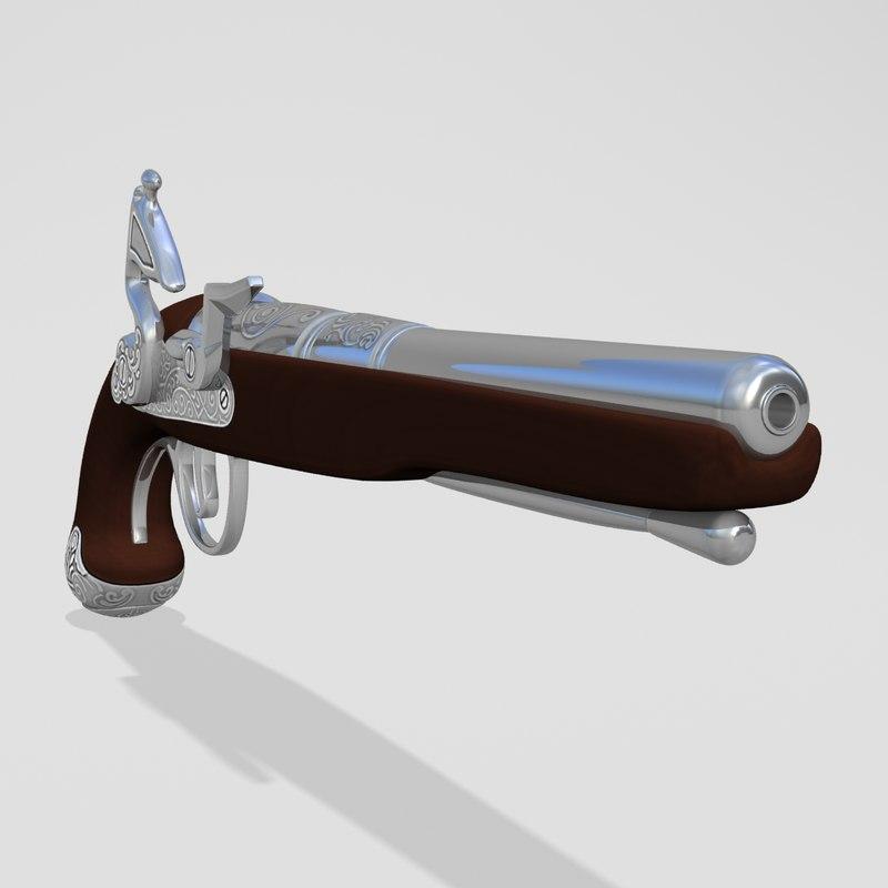flintlock pistol ma
