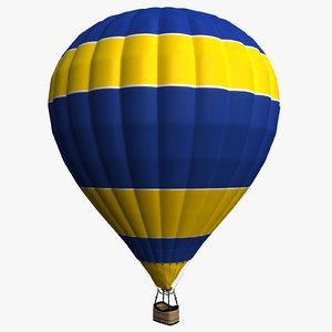 3d balloon basket model