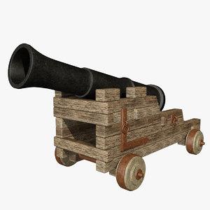 3ds max cannon
