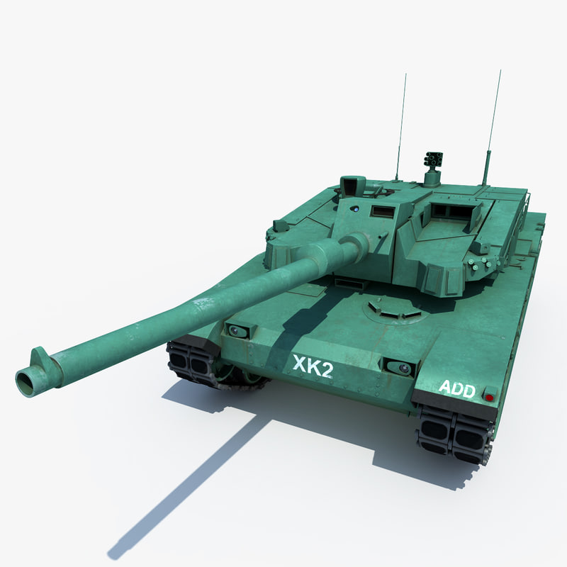 xk2 black panther main 3d model