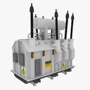 electrical transformer 3D models