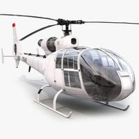 aerospatiale sa gazelle helicopter