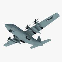 3ds max c-130 military