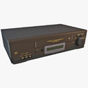 VCR Player 3D models