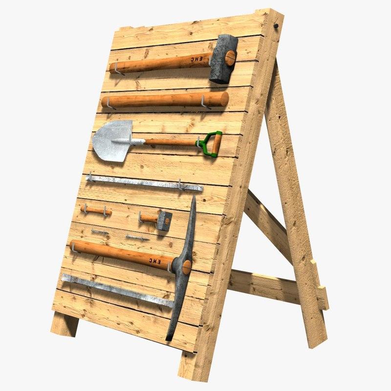 toolholder tool - 3d model