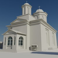 3d max scene church