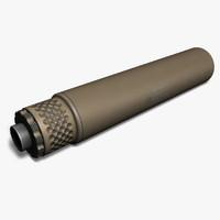 gemtech tundra-sv 9mm tan 3d max