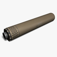 3d model gemtech tundra 9mm tan