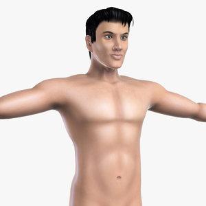 white male body max