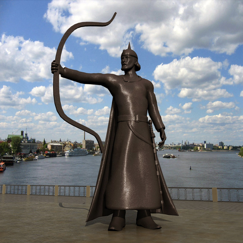 prince kiev khoriv 3d max