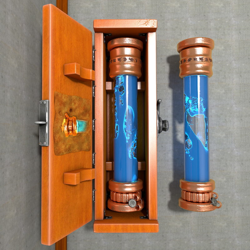 3d model box liquid