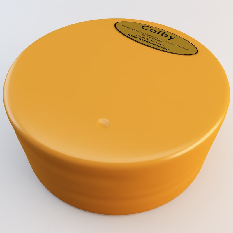 3ds cheese wheel