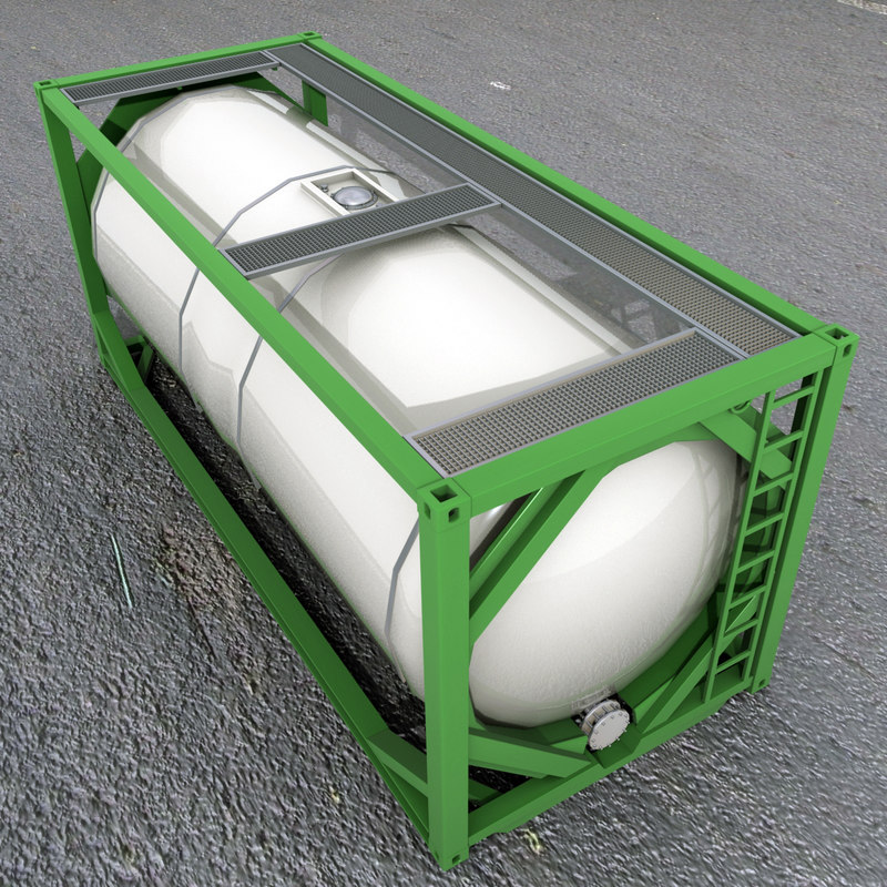 iso tank container model
