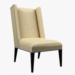 3d martin host chair tight model