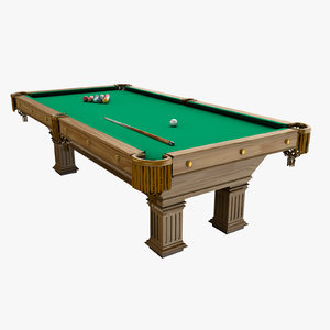 3d pool table