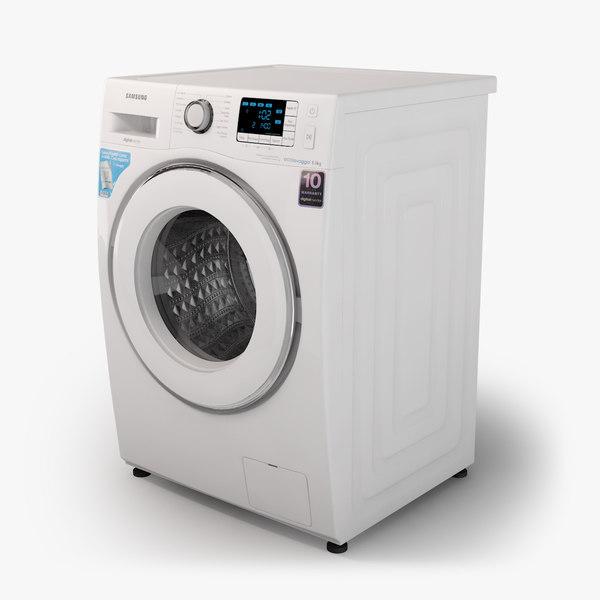 3d samsung washing machine model