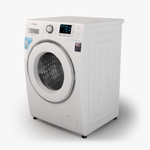 3d samsung washing machine model