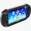 handheld game console 3D models