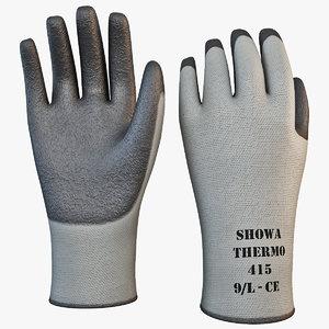 showa gardening gloves 3ds