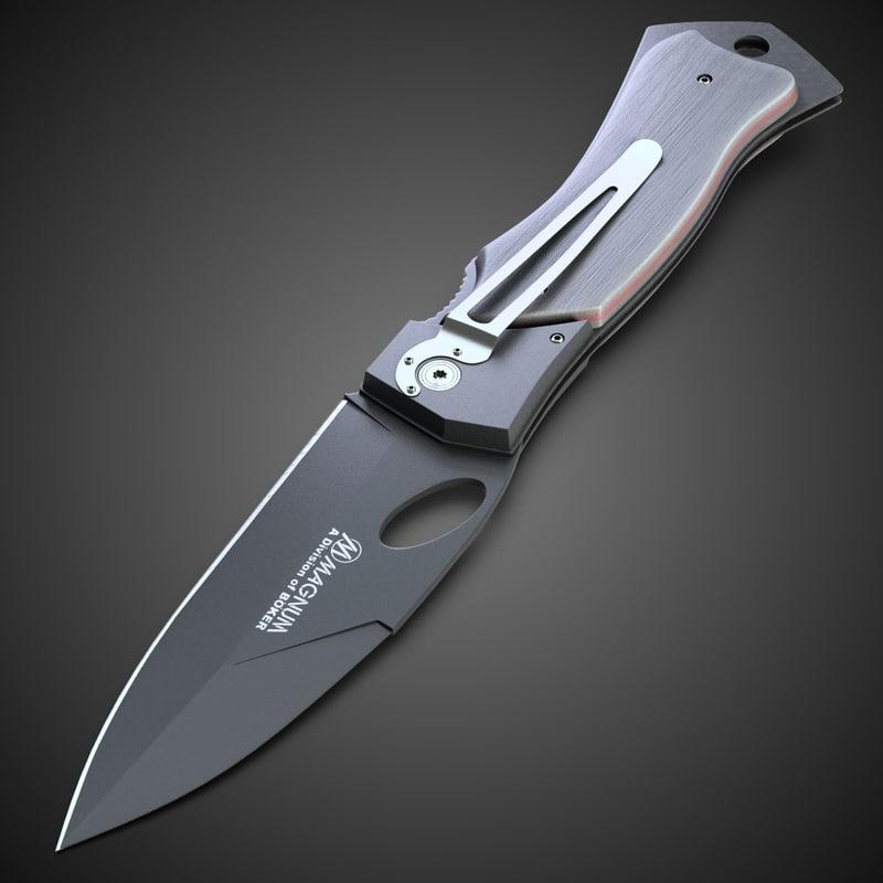 3d magnum knife 6