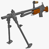 M1918A2 Browning Automatic Rifle 3 wth Bipod