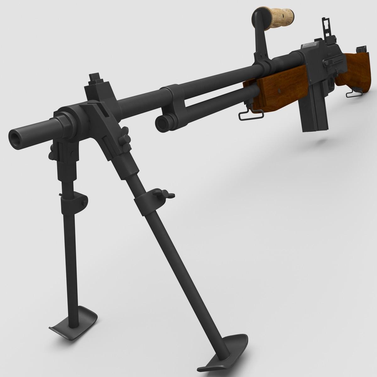 x m1918a2 browning automatic rifle gun