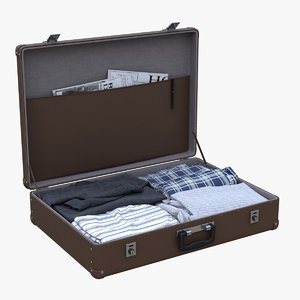 max suitcase cloth