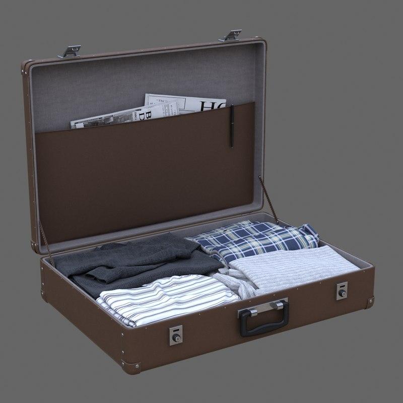 max suitcase cloth
