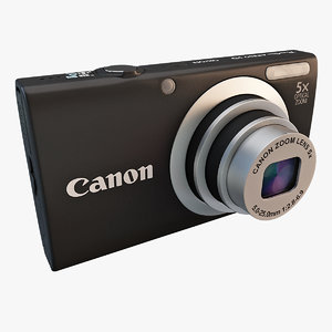 3d model canon a2300 powershot